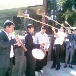 Узбекские народные инструменты-карнай сурнай