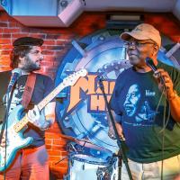 Джем Сейшн (изображений 8)   С гитаристом Хосе Луисом Пардо (Аргентина) и блюзмэном Кенни Вейном (США)