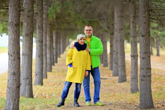 Прогулка с любимой, по осеннему парку!!!