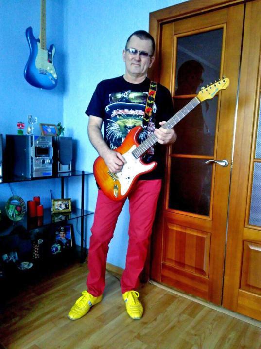 Я и мои гитары