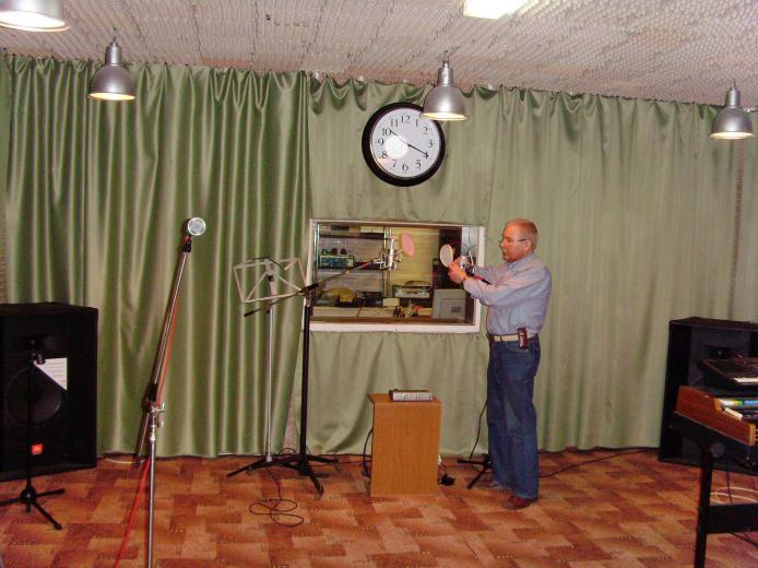 репетиционный зал студии