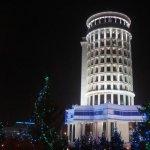 Пизанская башня, но не в Пизе