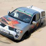 Silk way rally  Россияне на отдыхе в песках Кара-Кума.