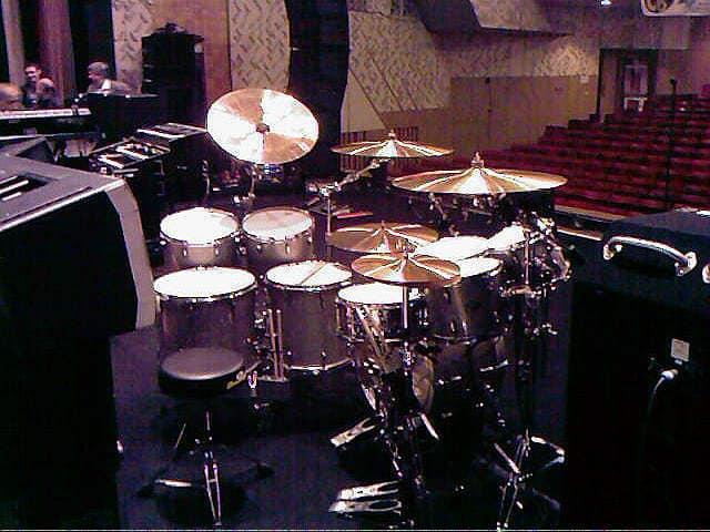 Барабаны Ian Paice-Deep Purple.Черкассы.2008г.Сцена Дружбы народов.