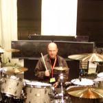 Мишка и барабаны  Deep-Purple.