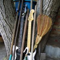 Садовый инструмент музыканта