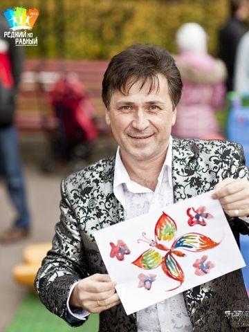 В парке Сокольники на детском празднике рисунков