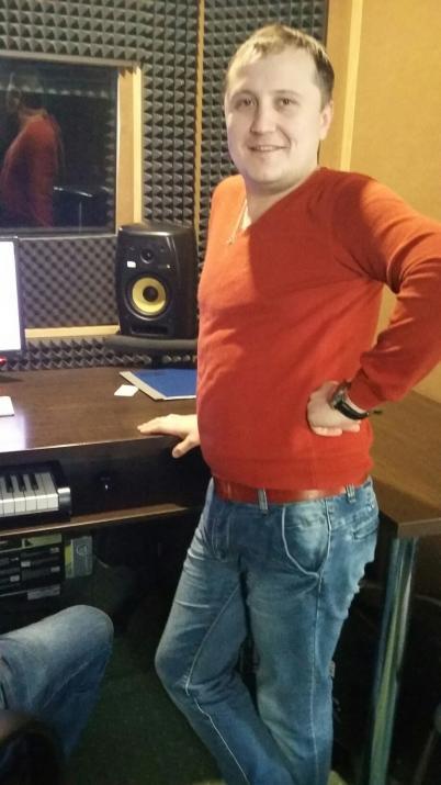 В студии записи