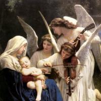 Ангелы Небесные  Ангелы небесные распевают песни нам...
