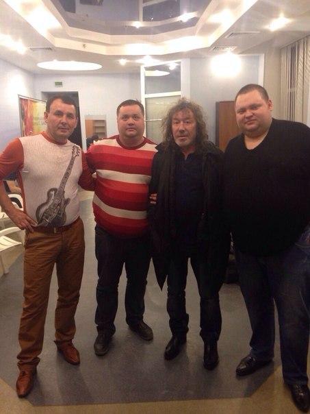 После концерта В.Кузьмина