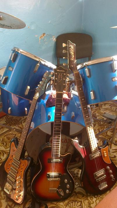 """Легендарные гитары!!! Они помнят песни о """"БАМе"""",Що"""