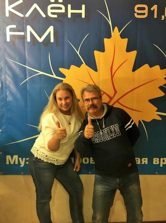 Интервью на радио КлёнФМ